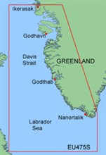 Garmin Greenland BlueChart Water Maps garmin bluechart xeu475s greenland west