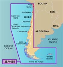 Garmin Central South America Bluechart Watermaps garmin 010C092100