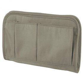 travelon safe id classic purse organizer medium