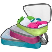 Travelon Packing Accessories travelon set of lightweight packing organizers