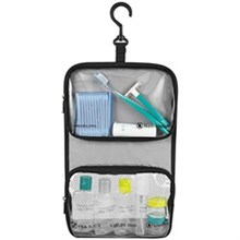 Travelon Toiletry Kits travelon wet dry 1 quart bag with plastic bottles