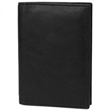 Travelon Mens Wallets travelon saf id classic leather passpor cas  black