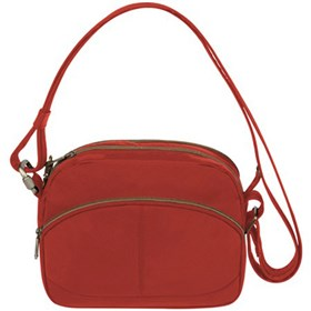 travelon anti theft signature east west shoulder bag