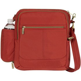 travelon anti theft signature north south shoulder bag