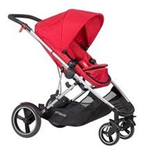 Double Strollers phil and teds voyager buggy
