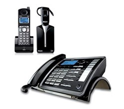 General Electric RCA DECT 6 Two Handset Cordless Phones ge rca 25270re3