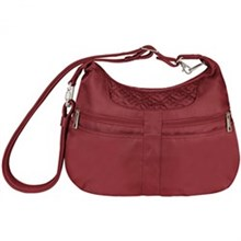 Travelon Hobo Series travelon anti theft signature multi pocket hobo bag