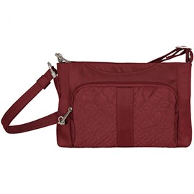 travelon anti theft signature east west slim bag