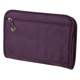 travelon safe id classic purse organizer large