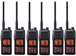 Standard Horizon 6 Pack VHF Radio Bundles standard horizon hx380