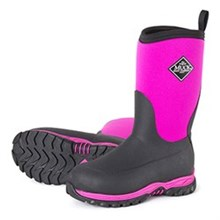 Pink Muck Boots youths rugged II pink black