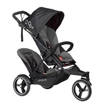 Phil and Teds Single Strollers phil and teds 2016 dot inline stroller with second seat