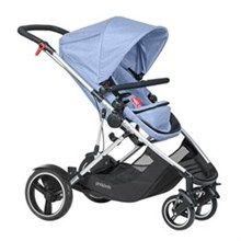 Phil and Teds Single Strollers phil and teds voyager inline stroller