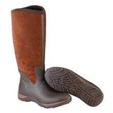 Muck Boots Clearance Deals womens arctic adventure zip suede choc bison