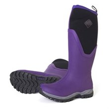 Muck Boots Womens Winter Boots arctic sport II tall purple