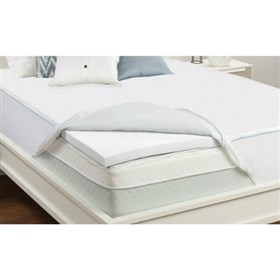 sealy 2 inch memory foam mattress topper twin