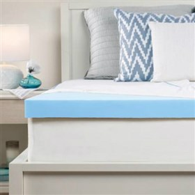 sealy 2 5 inch memory foam mattress topper with cover full