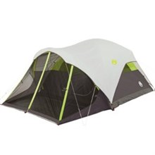 Coleman shop by size 6 to 9 people coleman steel creek screened 6 person tent