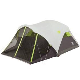 coleman steel creek screened 6 person tent