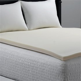 simmons beautyrest bed bug resistant memory foam topper twin size