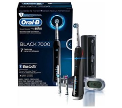 Oral B Smart Toothbrushes oral b precision 7000 black bluetooth