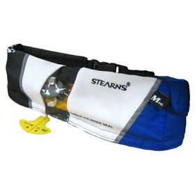 stearns paddlesports manual inflatable belt blue