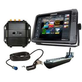 lowrance hds 12 gen3 83 200 structure scan 3d bundle