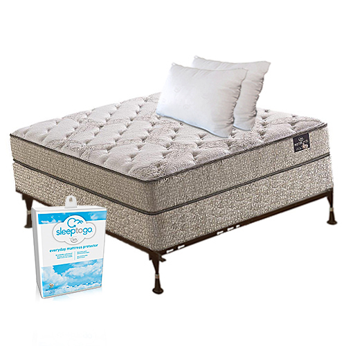ferrera plush twin size mattress bundle package