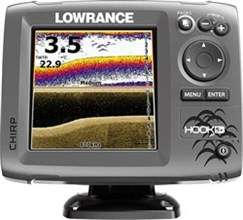 Lowrance HOOK Series Fishfinders lowrance hook 5x