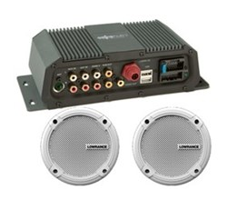 Lowrance Audio Accessories lowrance sonichub marine audio server