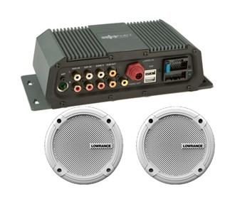lowrance sonichub marine audio server