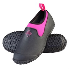 Pink Muck Boots womens muckster ii low black pink
