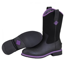 womens ryder black purple