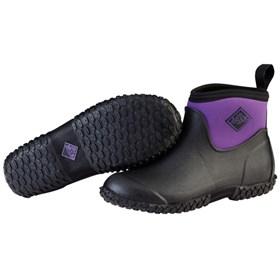 womens muckster ii ankle black purple