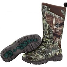 Mens Muck Hunting Boots pursuit supreme fleece mossy oak infinity