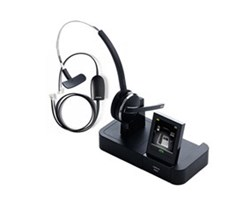 Jabra Mono Wireless Headsets for Polycom PRO 9470 Mono with EHS 14201 17 for Polycom