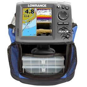 lowrance hook 5 ice