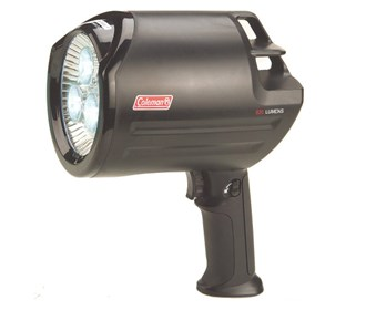 coleman rechargeable led spotlight