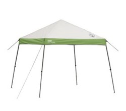 Coleman Instant Shelters coleman 10 ft x 10 ft wide base instant canopy