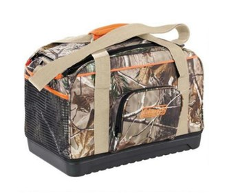 coleman 24 can camo duffle
