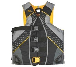 Stearns stearns illusion gold rush mens nylon life vest