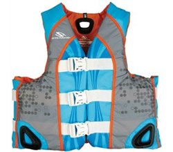 Stearns stearns illusion abstract wave womens nylon life vest