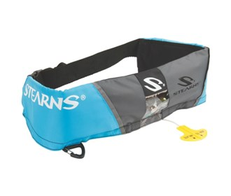 stearns manual inflatable belt pack