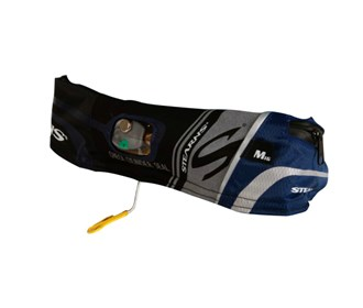 stearns 16g elite inflatable belt pack blue/black