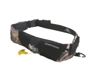stearns 16g manual inflatable belt pack camo