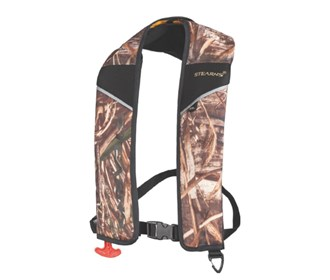 stearns 24g auto manual inflatable life vest
