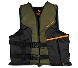Stearns stearns sportsman green youth life vest