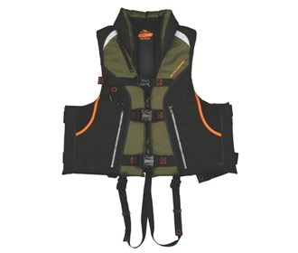 stearns trophy series fishing vest green