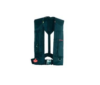 stearns auto manual inflatable life jacket blue