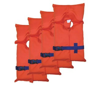 stearns adult type ii life jackets